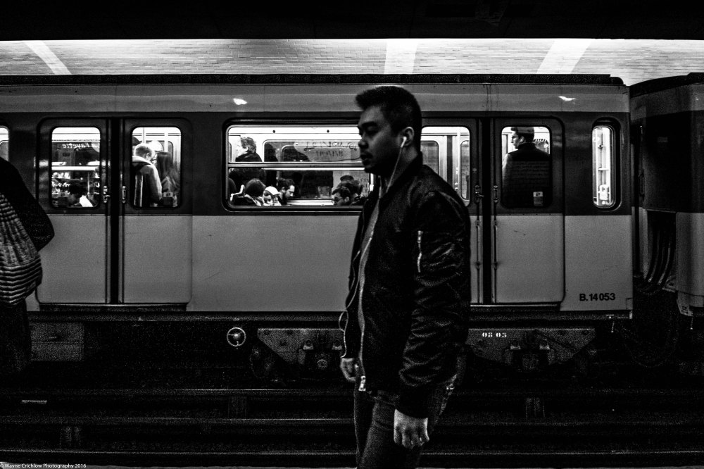 Parisian Commuter (wvs)